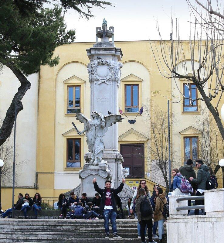 Sorrento. Vittoria square (Piazza della Vittoiria)