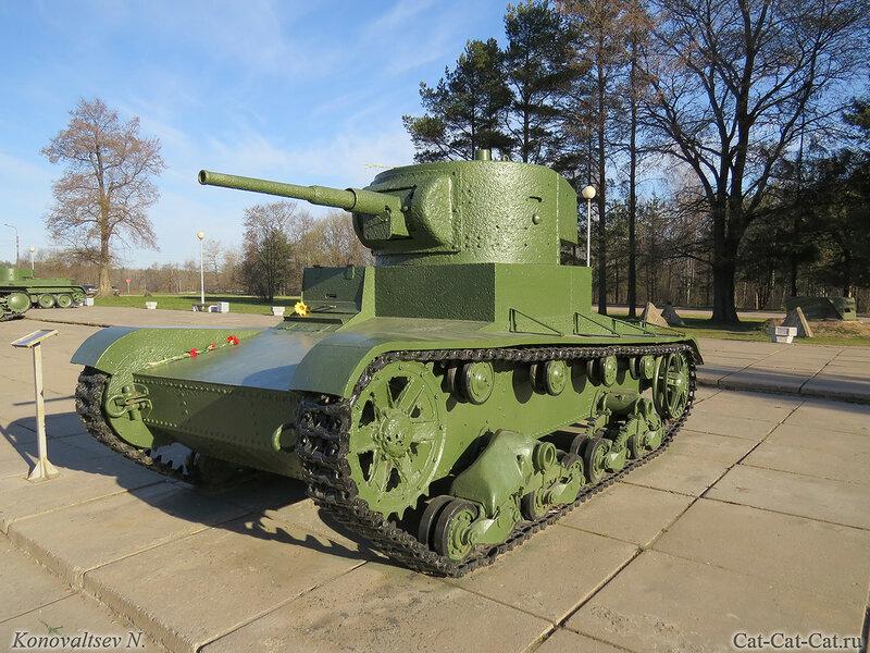 Лёгкий танк Т-26. Музей-диорама «Прорыв блокады Ленинграда»