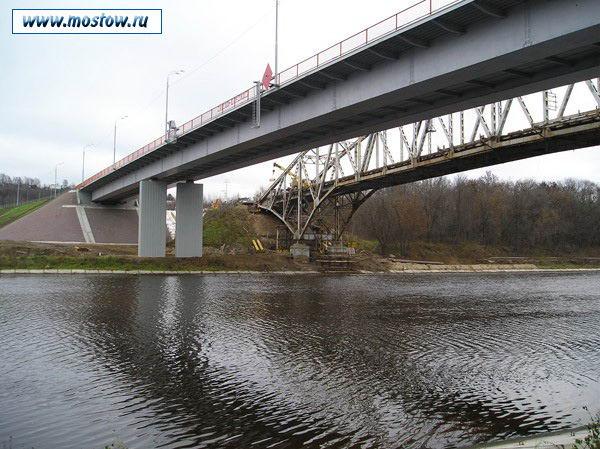 2005 новый и старый Яхромскиео шоссейныео мосты.jpg