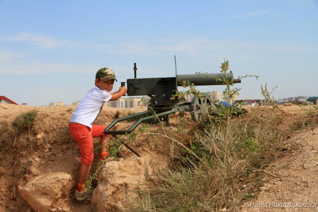 Крым, Севастополь, 35-я батарея