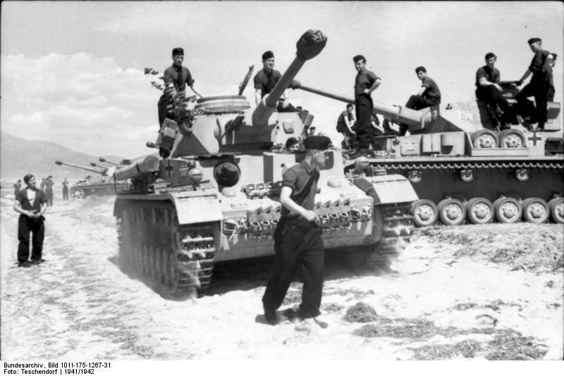 Griechenland, Panzer IV