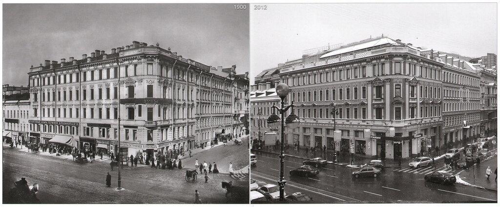 Невский проспект 116 (1900-2012)