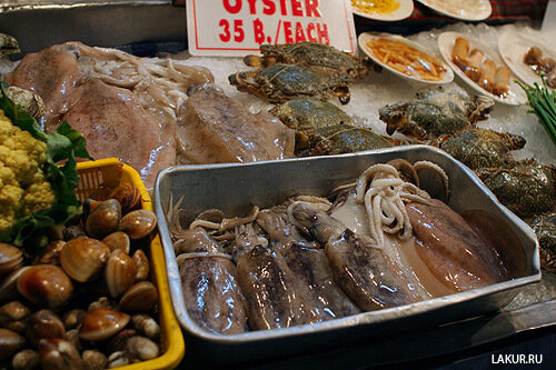 таиланд морепродукты
