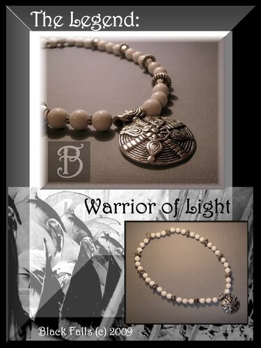 """The Legend: Warrior of Light"" Beads & Pendant"