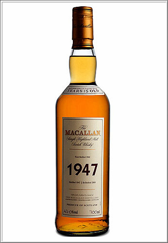 The Macallan Fine & Rare 1947 15 YO.