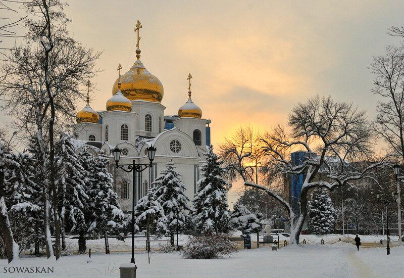 Краснодар. Храм Александра Невского.