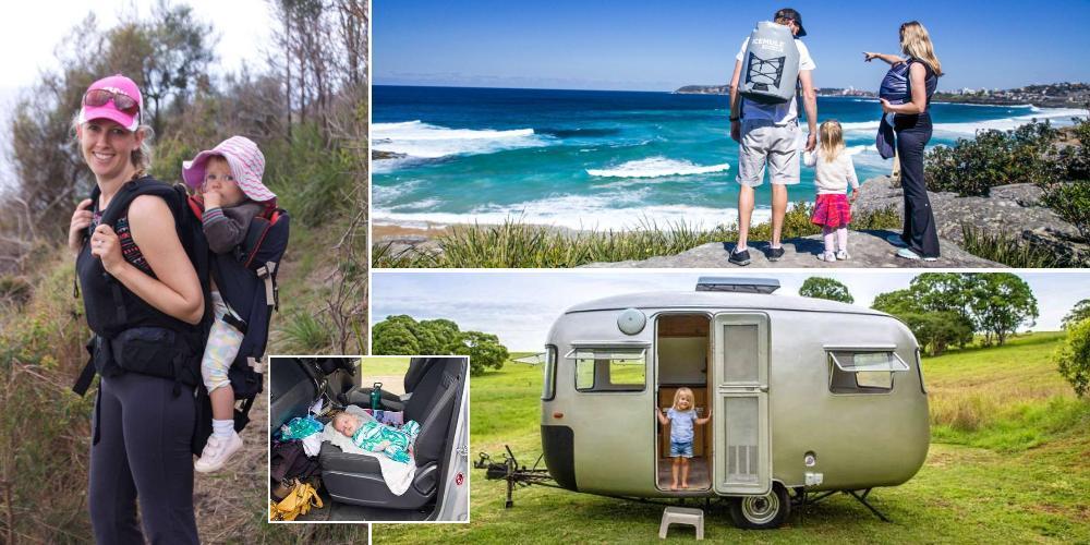 Пара путешествует по Австралии с новорожденным сыном и 2-летней дочерью