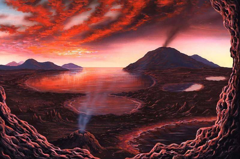 картинки наша планета миллионы лет назад ничего хуже снимка
