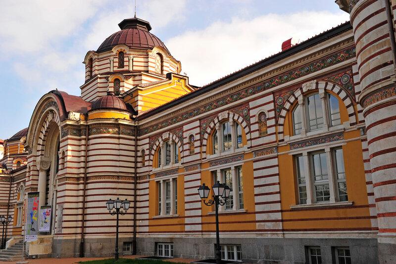 София - столица солнечной Болгарии...