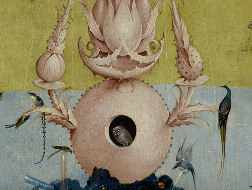 Hieronymus Bosch - The Garden of Eearthly Delights Left-Hand panel with the Fountain Of Life