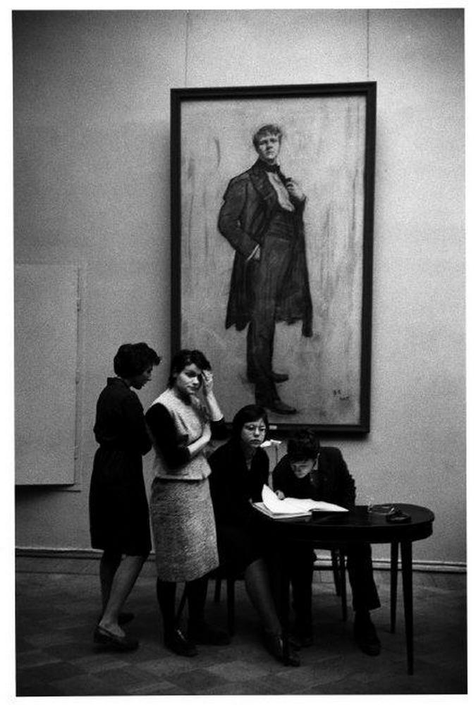 Белла Ахмадулина, 1985