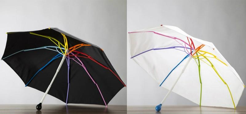 17. Зонт «Радуга» Зонт со спицами всех цветов радуги.