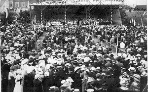 Первый русский певческий праздник в Нарве. 1913