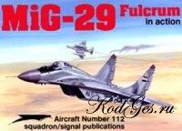 Книга MiG-29 Fulcrum in action