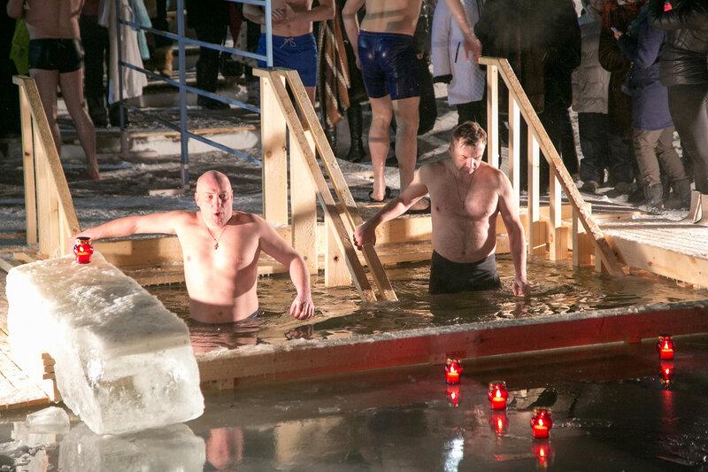 Крещенские купания в Красногорске