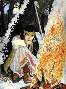 Овда-ведьма у марийцев