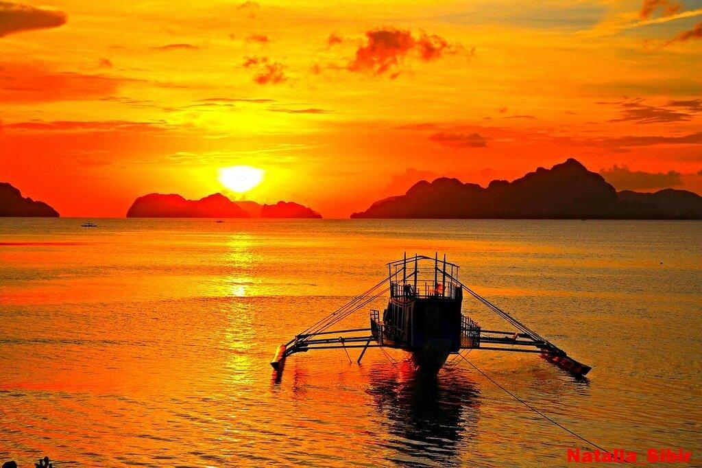 """Фото """"Закат на Филиппинах"""", награжденное Звездой Вдохновения"""