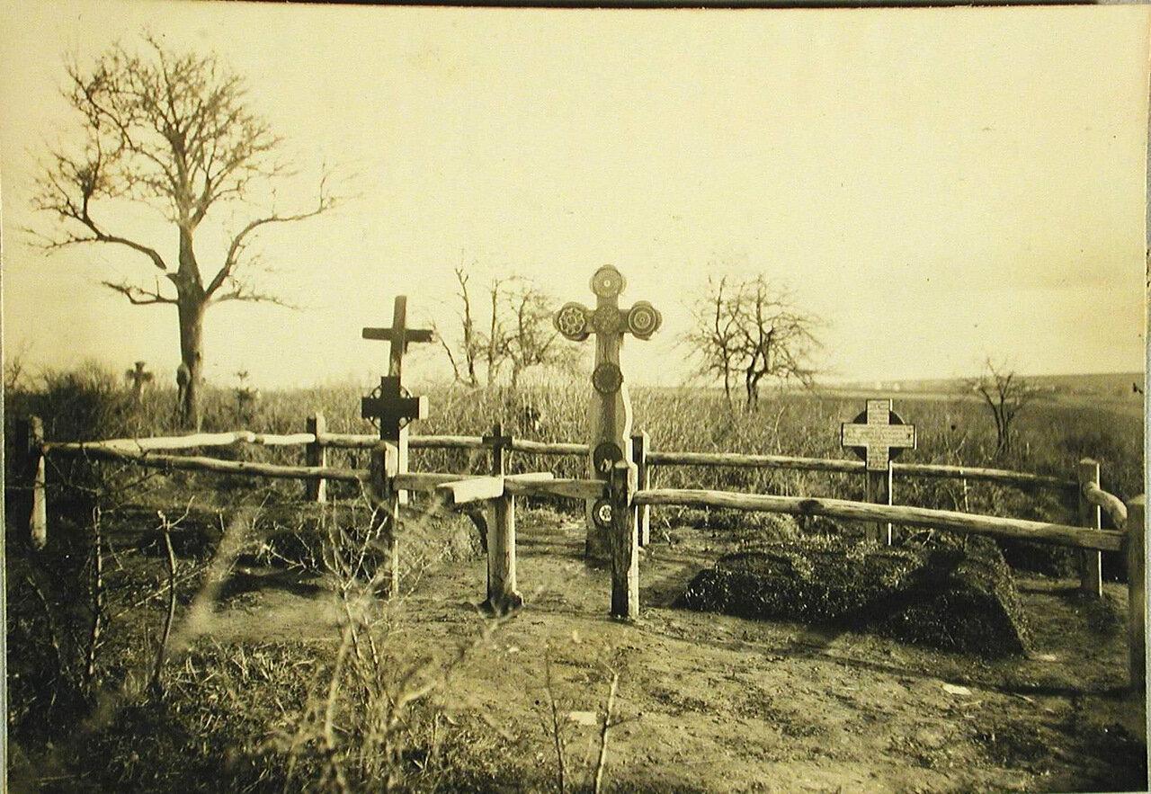 28. Общий вид братского кладбища. Галиция, с.Подгайчики