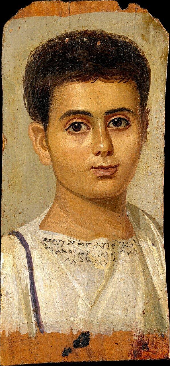 Портрет мальчика Евтихия