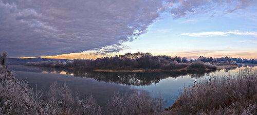 Утро на  Дону .Осень.
