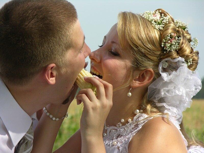 Веселая свадьба...