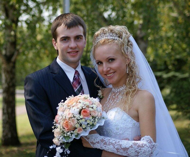Жених и невеста....