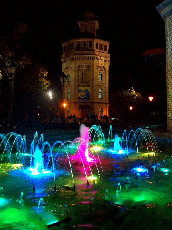 Светомузыкальный фонтан Хрещатого парка