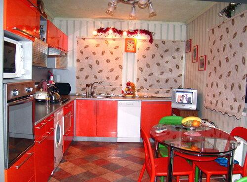 Дизайн кухни черный с