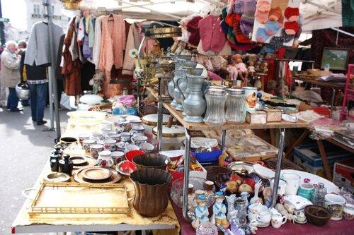 На блошином рынке Нашмаркт