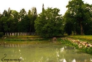 Китайский пруд. Пергола. 2008 год