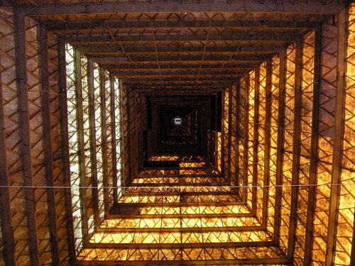 В пирамиде