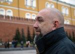 Профиль Алексея Lookall на фоне древних стен Кремля...