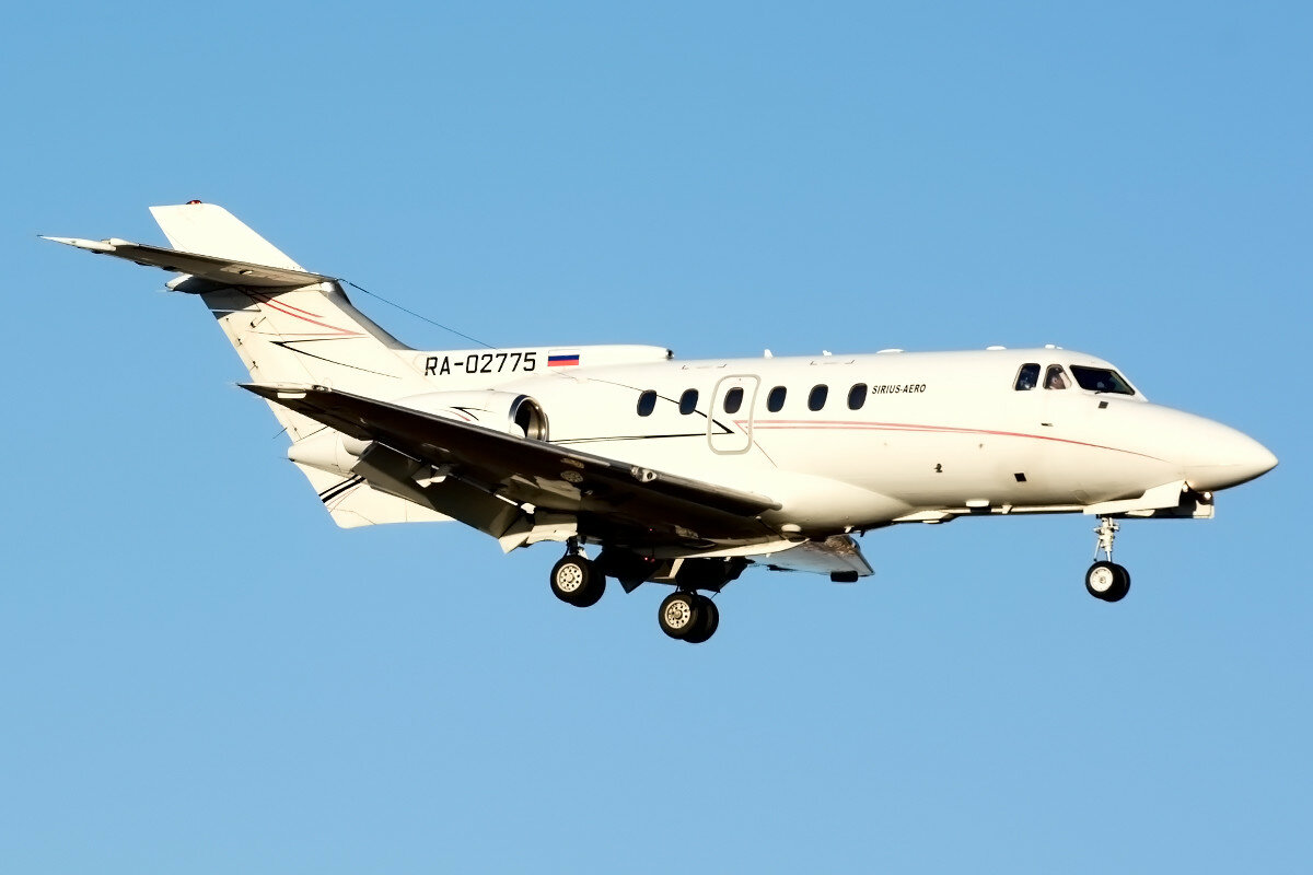 British Aerospace BAe 125-700A. Сириус-Аэро. RA-02775 .