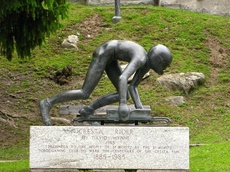 Памятник скелетону