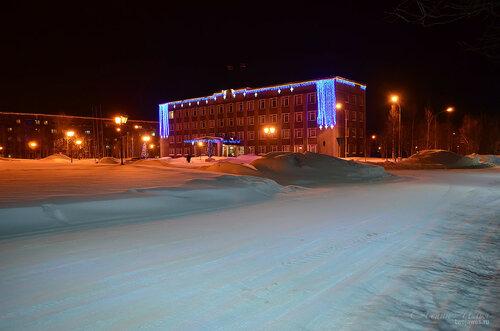 Фотография Инты №7436  Дзержинского 29 и Горького 16 18.01.2015_16:33