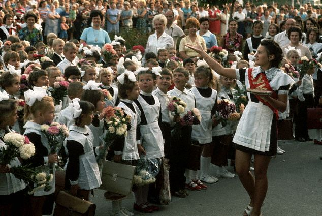 Ceremonies to Mark First Day of School, Odessa