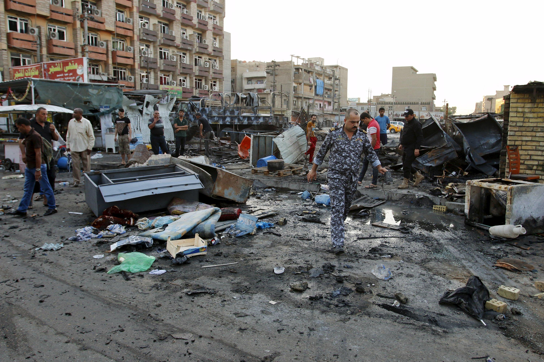 Количество жертв теракта вБагдаде возросло  до24 человек
