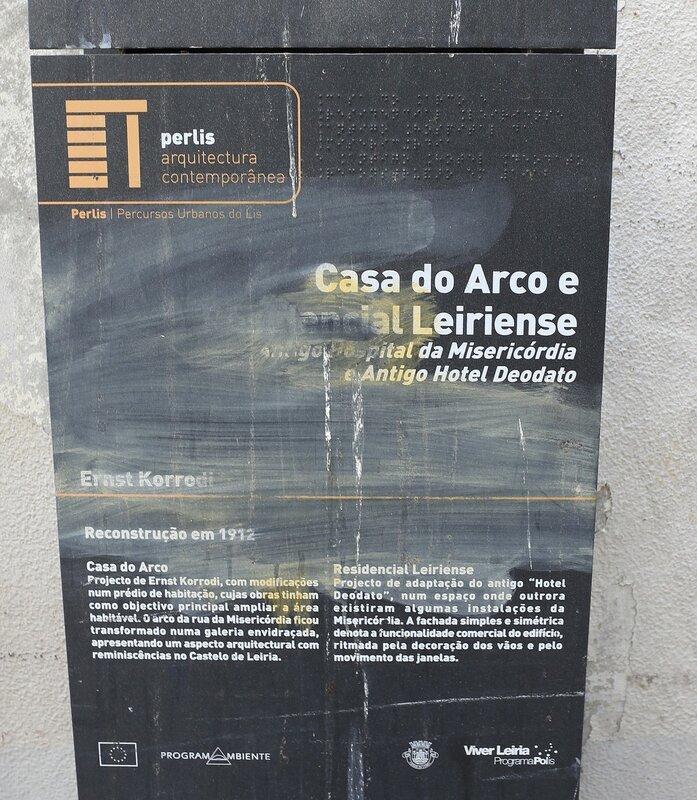 Leiria. House with an arch (Casa do Arco)