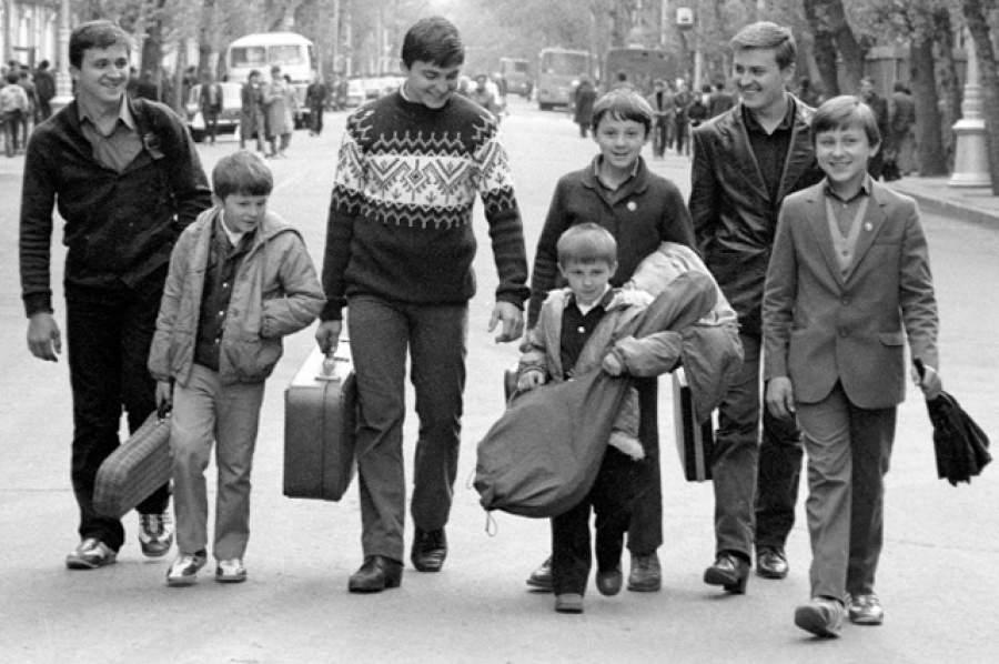 Семья Овечкиных   8 марта 1988 года семья музыкантов совершила одну из самых де