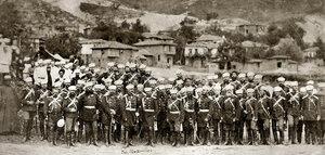 Граф Едуард Ив. Тотлебен, генерал от инженерните войски, с щаба на действащата армия, Сан Стефано, 1878 г.