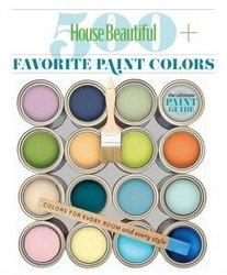 Книга House Beautiful - 500 Favorite Paint Colors