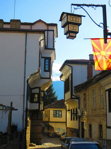 Охрид: фонарь