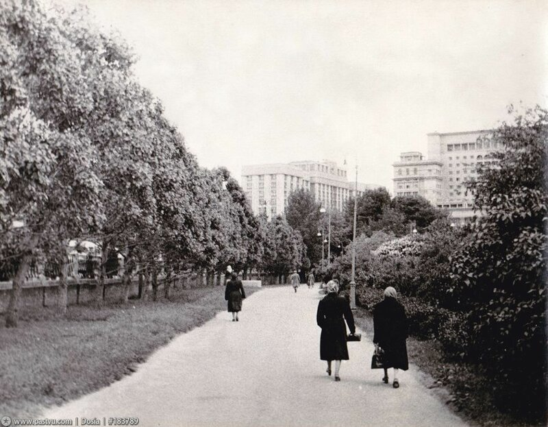 Александровский сад, 50-60-е