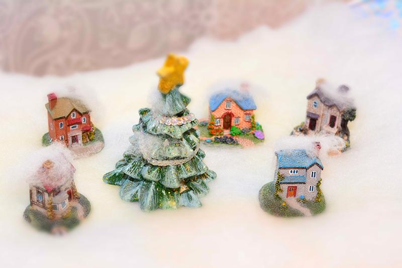 зимняя деревня 5