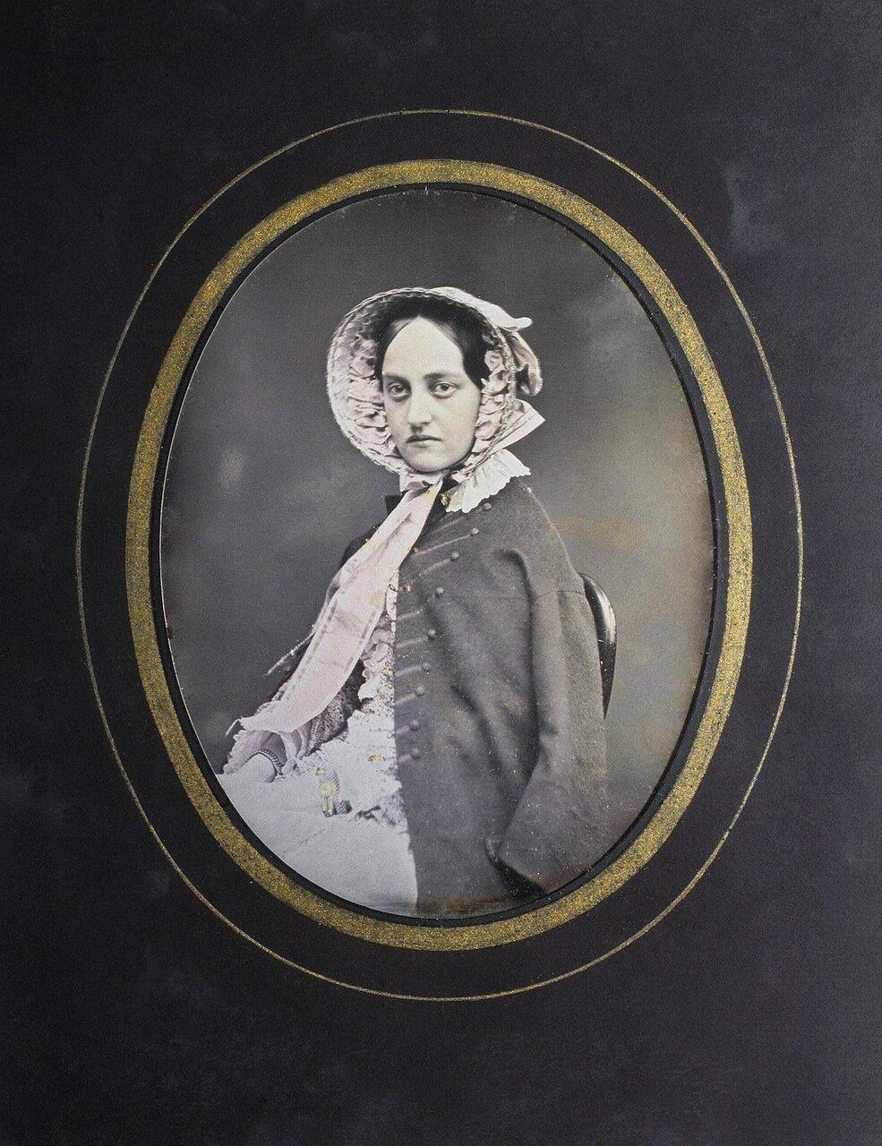 Портрет графини Анны Дмитриевны Строгановой. 1840-е