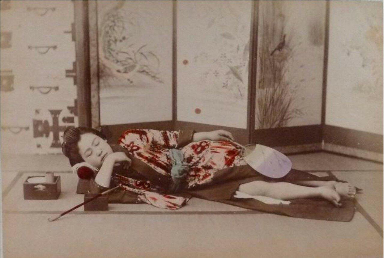 Спящая. 1890