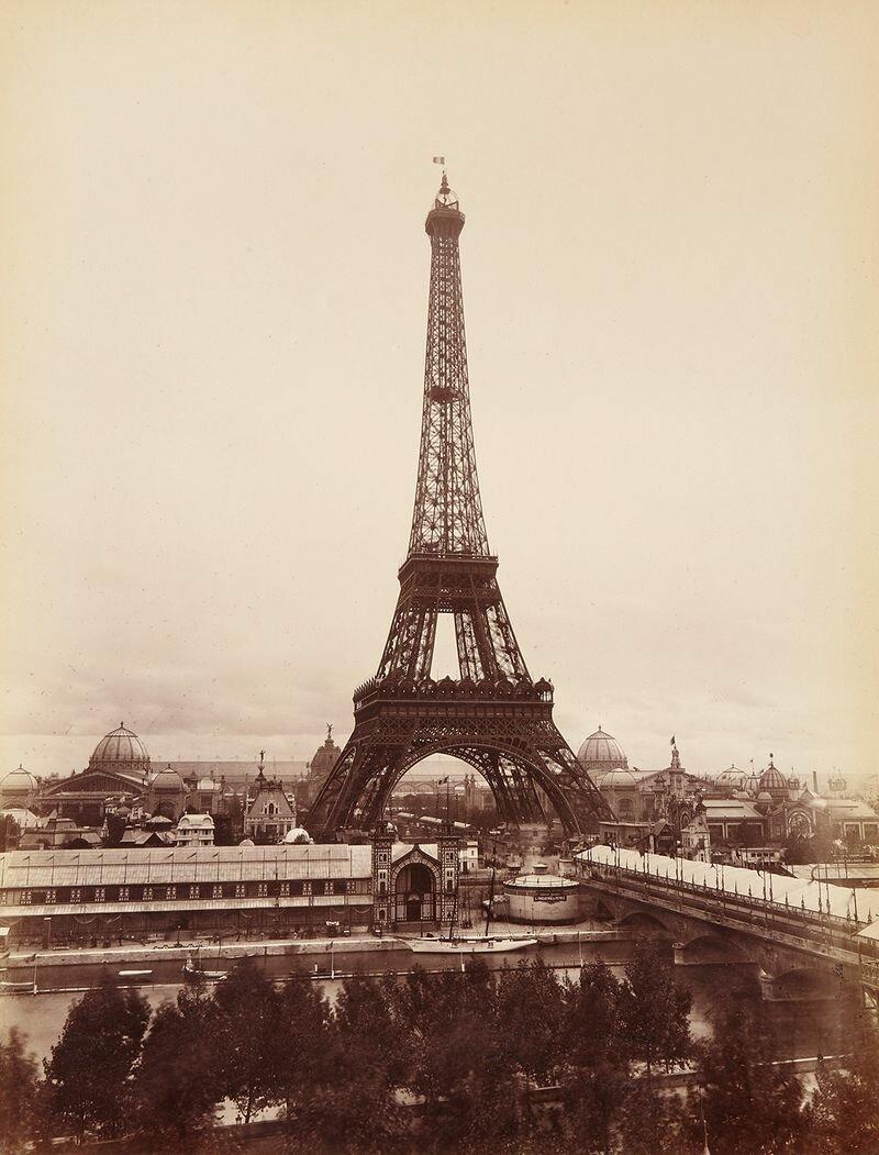 1889. Парижская выставка