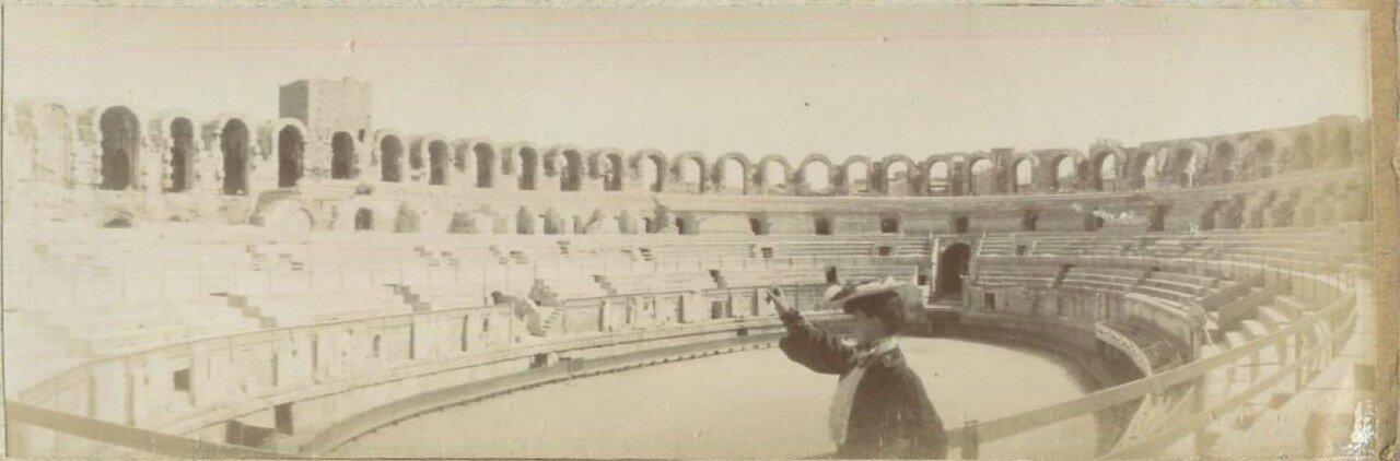 Арена амфитеатра.1900