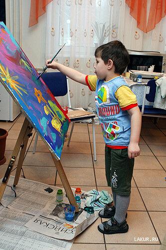 картина живопись дети шедевр художник