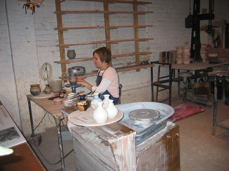 Мастерская в музее фарфора